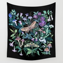 Witches Garden Wall Tapestry