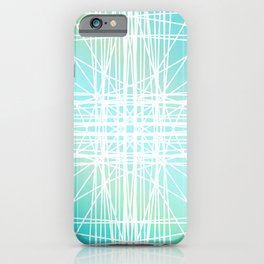 Linear Oceanblast iPhone Case