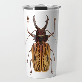 Macrodontia Cervicornis Sabertooth Beetle Travel Mug