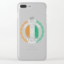 Ivory Coast Its In My DNA Clear iPhone Case