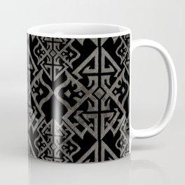Art Deco Black Coffee Mug