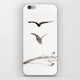 Love Hawk 1 iPhone Skin