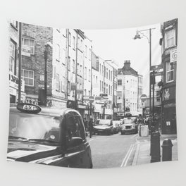London scene Wall Tapestry