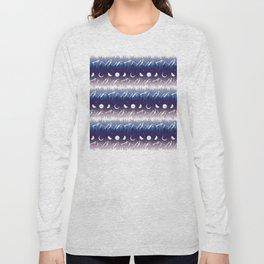 Mountains & Moons Stripe Long Sleeve T-shirt