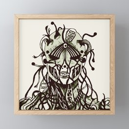 War Against Machines Framed Mini Art Print