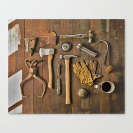 Tools (Color) Canvas Print