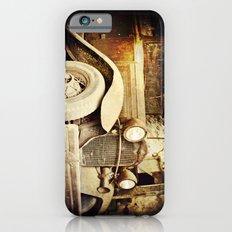 Vintage metal iPhone 6s Slim Case
