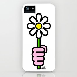 Daisy punch iPhone Case