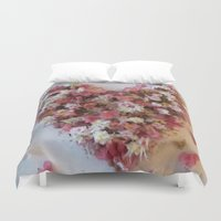 romance Duvet Covers featuring Romance by Gun Alfsdotter