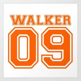 Walker 09 Art Print