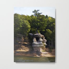 Chapel Rock Metal Print