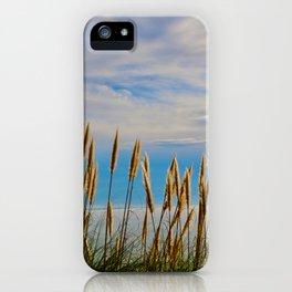 Fort Bragg's Ocean Cattails iPhone Case