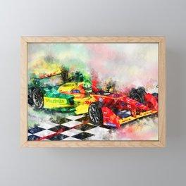 Lucas di Grassi, Formula E Framed Mini Art Print