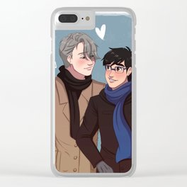 Victuuri 4 Clear iPhone Case
