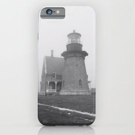 Light House Block Island iPhone Case