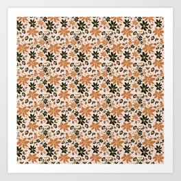 Floral Pattern - Good To Be Back Art Print