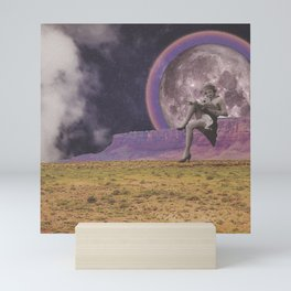 Mountain Moon Mini Art Print