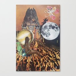 Blasé vu Canvas Print
