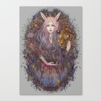 scales Canvas Prints featuring scales by Miru
