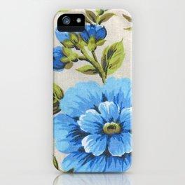 blue malva iPhone Case