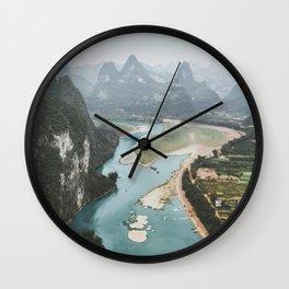 Xingping, China IV Wall Clock