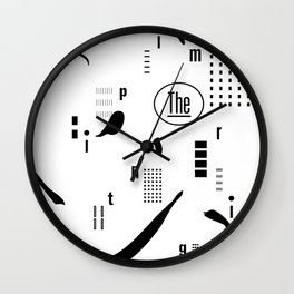 The Imprinting Wall Clock