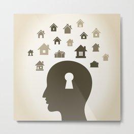 House a head Metal Print