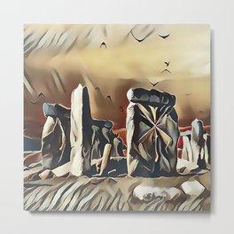 The Equinox at Stonehenge Metal Print