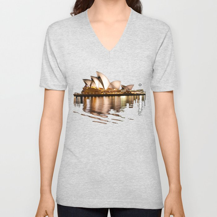 A Night At The Opera Unisex V-Neck