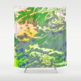 Lemon & Verdure 2 Shower Curtain