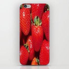 Garden Strawberries iPhone Skin