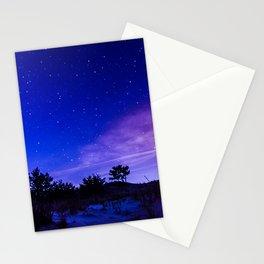 Galaxy Starry Sky Stationery Cards