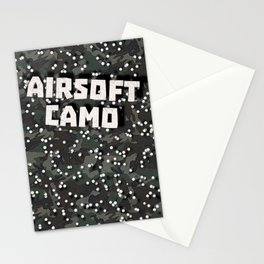 Airsoft Camo Stationery Cards
