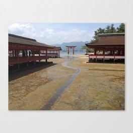 Itsukushima Shrine - Greg Katz Canvas Print