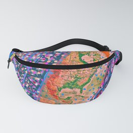 Map your dreams Fanny Pack