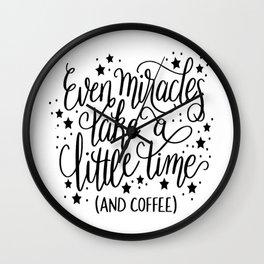 Miracles Wall Clock