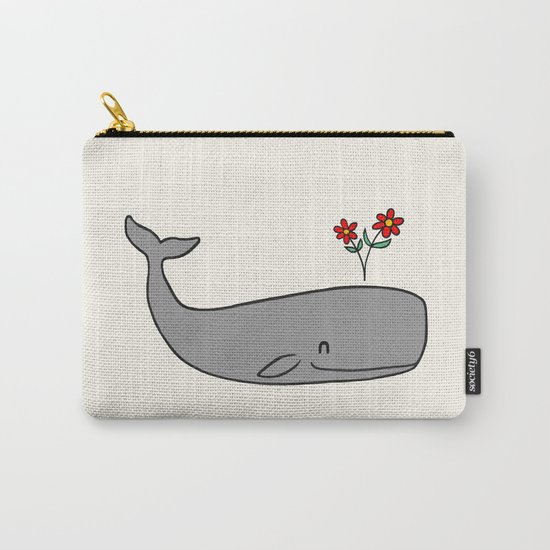 Peace Whale  Carry-All Pouch