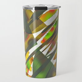 Abstract Autumm Travel Mug