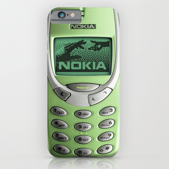 OLD NOKIA Green Lime iPhone & iPod Case