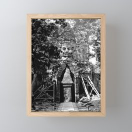 Deserted in the jungle Framed Mini Art Print