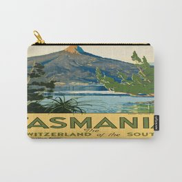 Vintage poster - Tasmania Carry-All Pouch