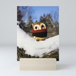 Harvey the Owl IV Mini Art Print