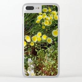 Desert Wildflowers - 7268 Clear iPhone Case
