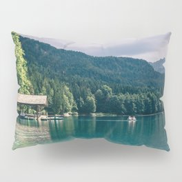 Alpsee Summer Mountain Lake Pillow Sham