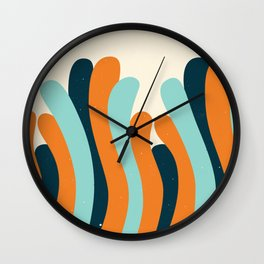 Grooves Wall Clock