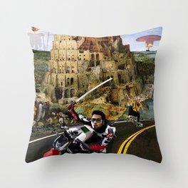 Snow Crash - Neal Stephenson Throw Pillow