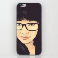 geek iPhone & iPod Skins featuring Geek by FalcaoLucas