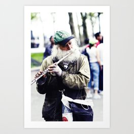 Just Another Day. Art Print