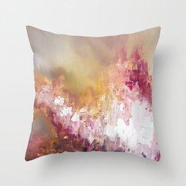 overcasting Throw Pillow