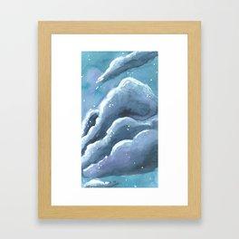chunk of sky #2 Framed Art Print